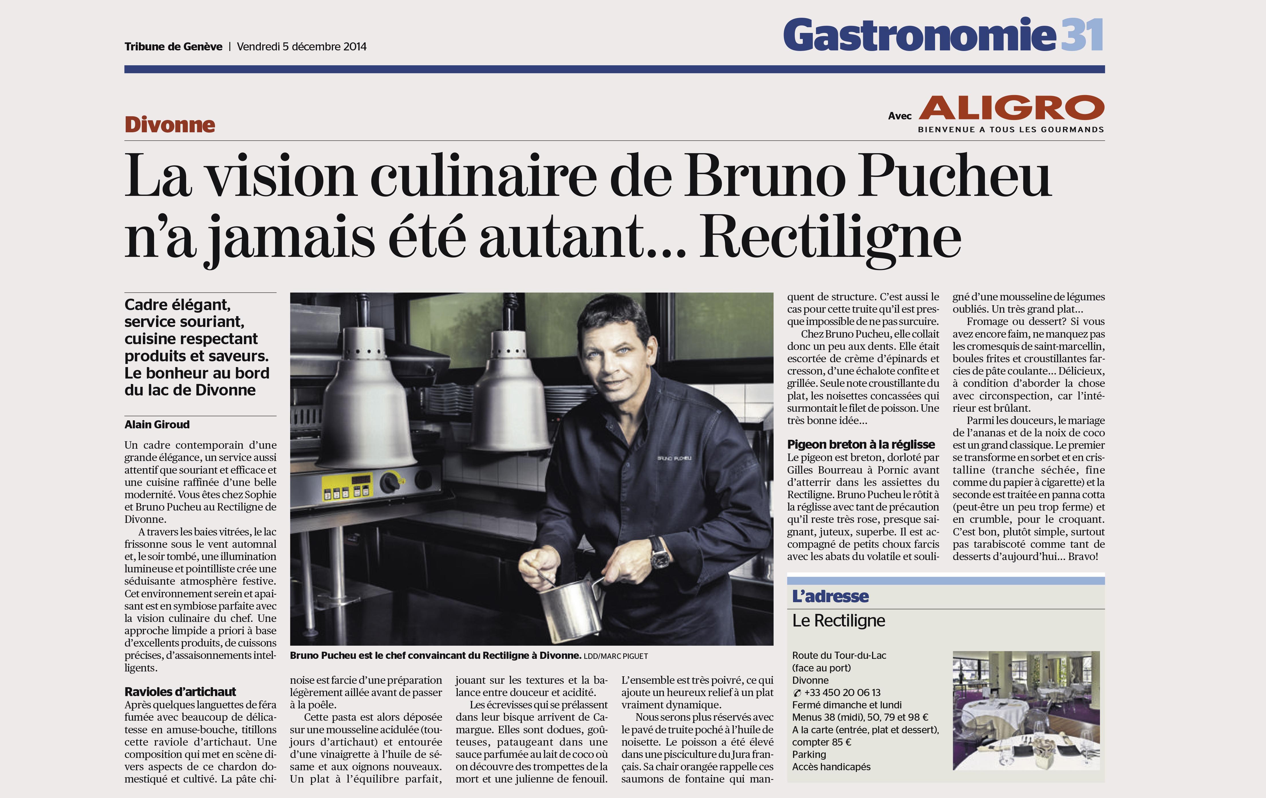 Tribune Bruno rectiligne