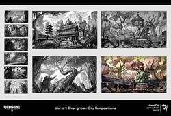 4. World 1 Sketches