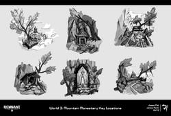 7. World 3 Location Sketches