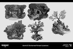 5. World 2 Sketches