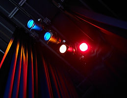 Lumières colorées Théâtre