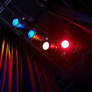 Farbige Theater Lichter