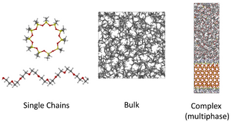 Use of Polymer Theoretical Concepts in Atomistic Polymer Simulation Software