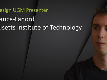 UGM Presenter Spotlight: Arthur France-Lanord
