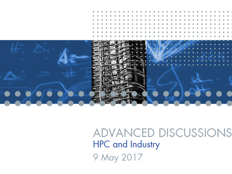"Volker Eyert invited to give a talk at the Advanced Discussion meeting on ""HPC and Industry&quo"