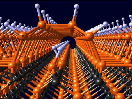 Nanotunnels below SiC Surface