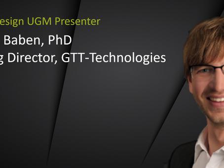 UGM Presenter Spotlight: Moritz to Baben