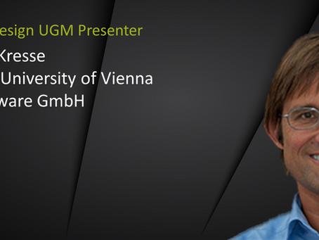 UGM Presenter Spotlight: Georg Kresse
