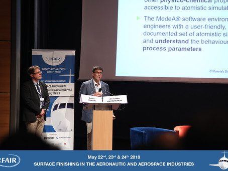 Materials Design, Inc. will be at the 2018 Surfair Congress