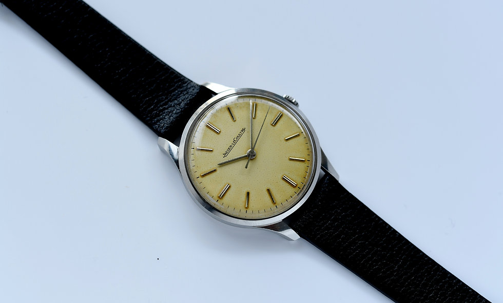 Jaeger-Lecoultre Stainless Steel 32mm Unpolished Serviced
