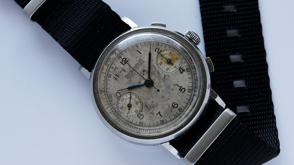 Eberhard & Co Pre Extra-Fort Monopusher 39mm Serviced