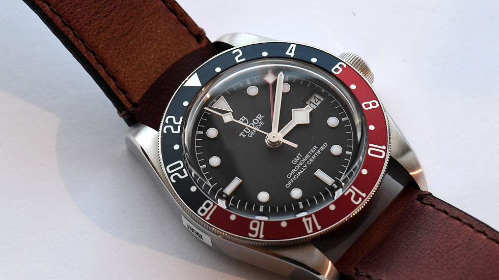 Tudor Black Bay GMT Pepsi 79830RB Box Papers New