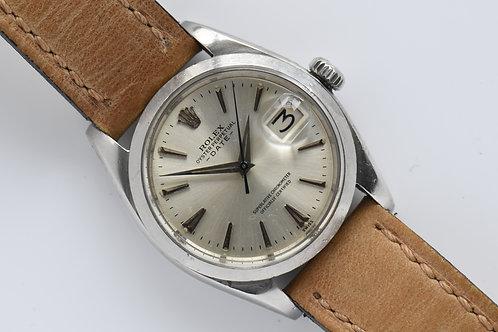 Rolex Date Ref 1500 Cal 1560 Butterfly 1960 Radium Dial