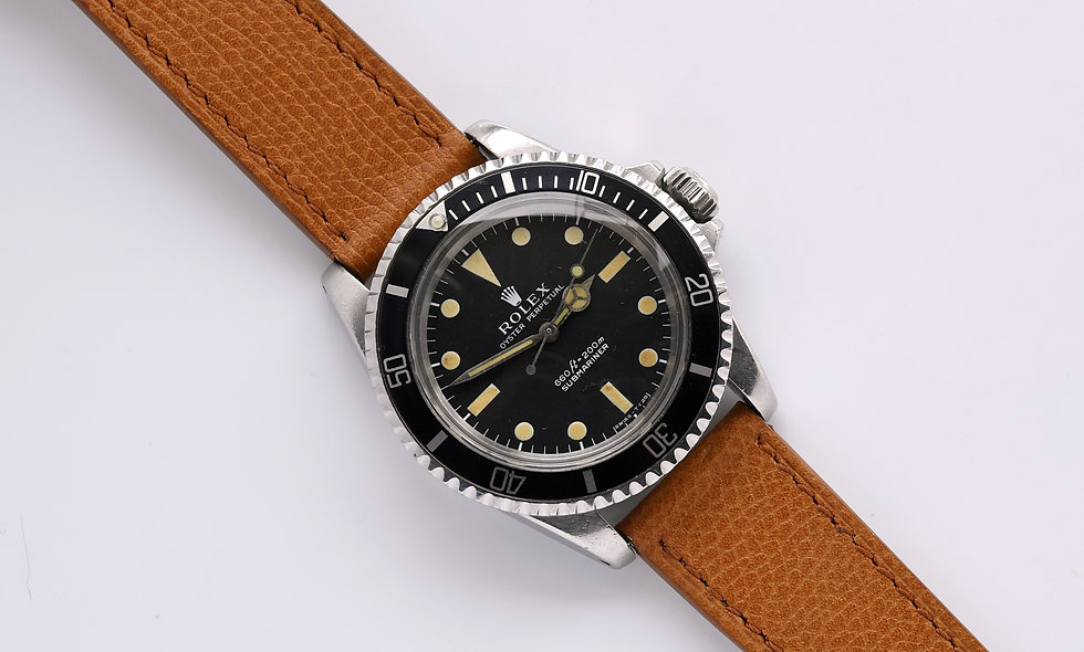 Rolex Submariner 5513 1972 Unpolished