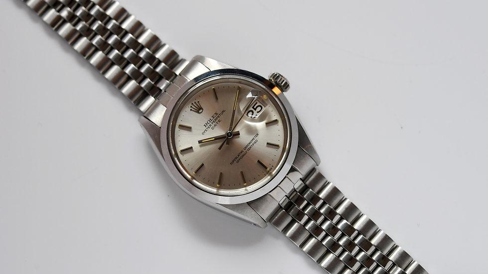Rolex Date 1500 Silver Dial 1971 Unworn
