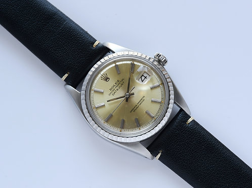 Rolex Datejust Silver Pie Pan Dial 1603 1968