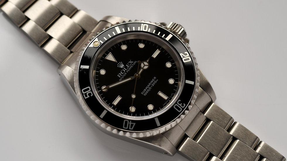 Rolex Submariner No Date 14060 1993 Complete Full Set