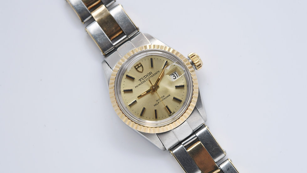 Tudor Princess Oysterdate Two Tone 7602/3 1968 Serviced