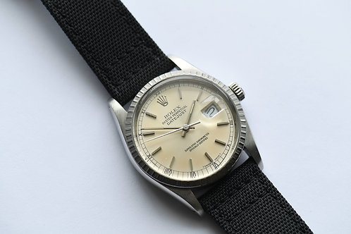 Rolex Datejust 16030 Engine Turned Bezel Evenly Aged Dial