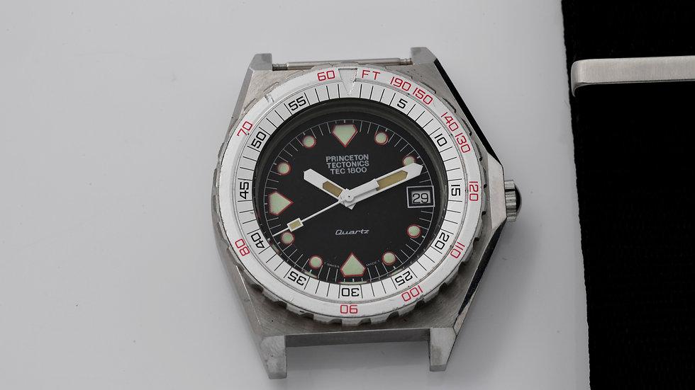 Doxa Princeton Tectonics Tec 1800Diver Watch