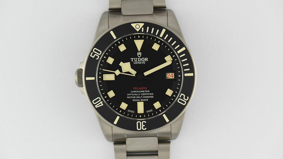 Tudor 25610TNL Pelagos LHD Titanium 2018