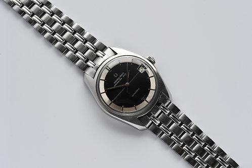 Universal Geneve Polerouter Date Black Dial GF Bracelet 1967 Serviced