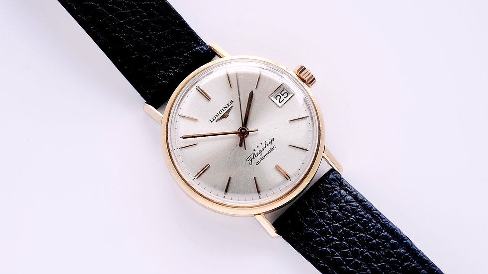 Longines Flagship 18k Rose Gold Ref 3417 Serviced