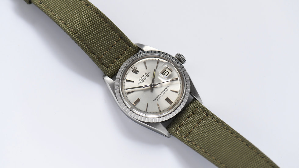 Rolex Stainless Steel 1603 Pie Pan Dial Serviced