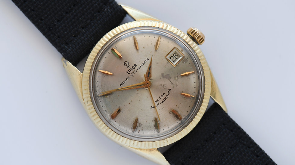 Tudor Prince Oysterdate Small Rose Dial Ref 7964 Serviced