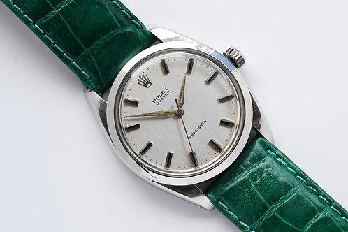 Rolex Oyster Precision 6426 1967 Silver Dial