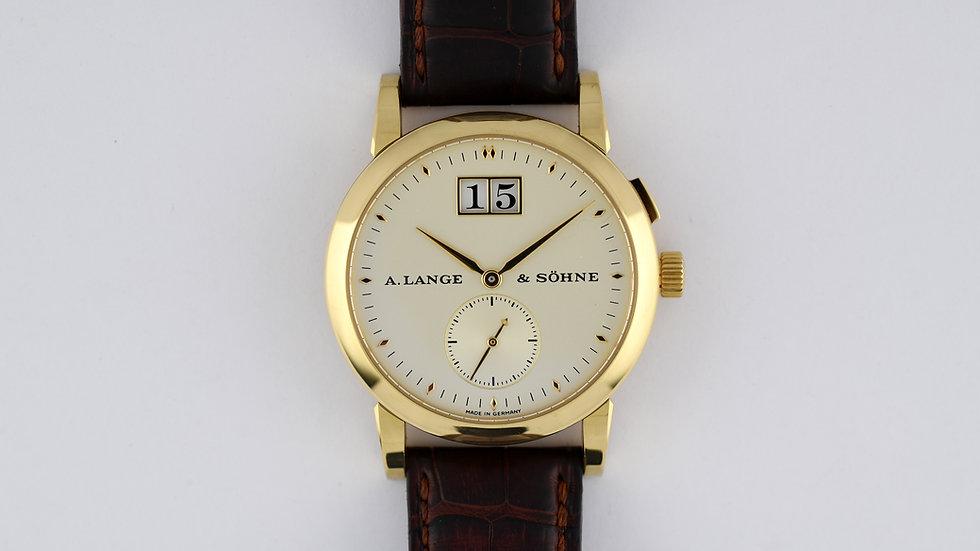 A.Lange & Sohne Saxonia 105.021 18k Gold