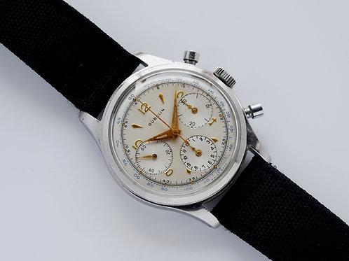 Gubelin Valjoux 72 Screwback Chronograph