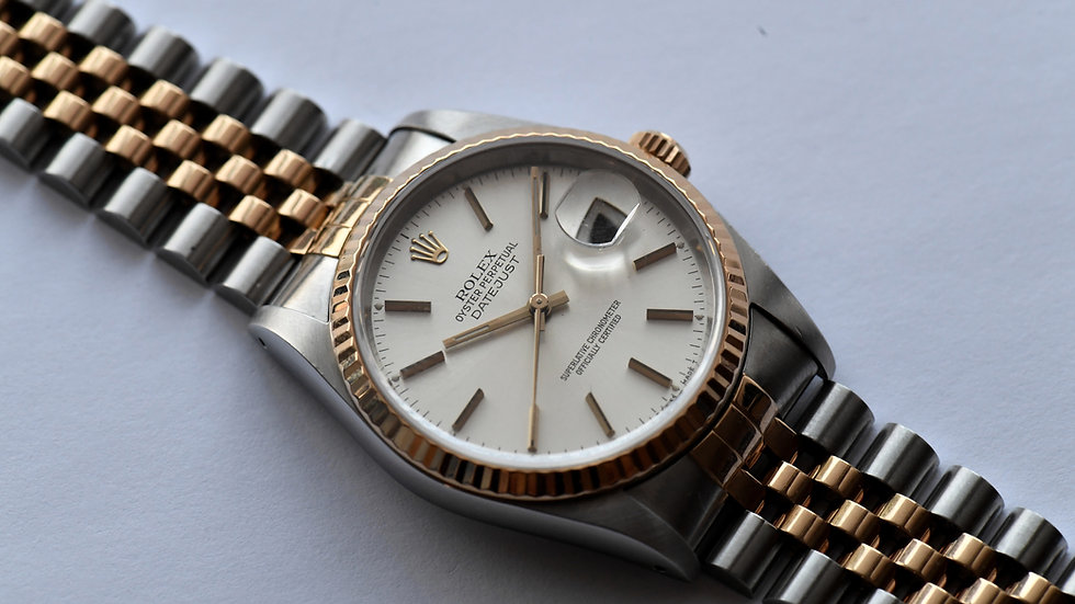 Rolex Datejust Two Tone 16233 Serviced