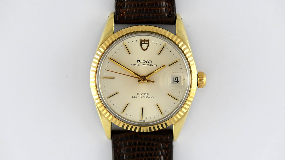 Tudor by Rolex Gold Capped 90735 B 1984