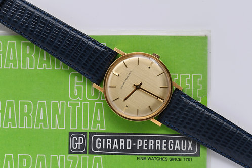 Girard Perregaux 18k Gold 33mm Box Papers