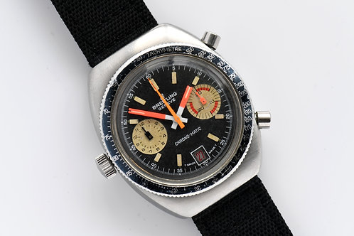 Breitling Chrono-Matic Cal 11 Ref 2114 Box Papers 1972