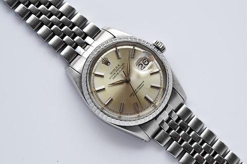 Rolex Datejust Piepan Silver Dial Dauphine Hands 1603 1966
