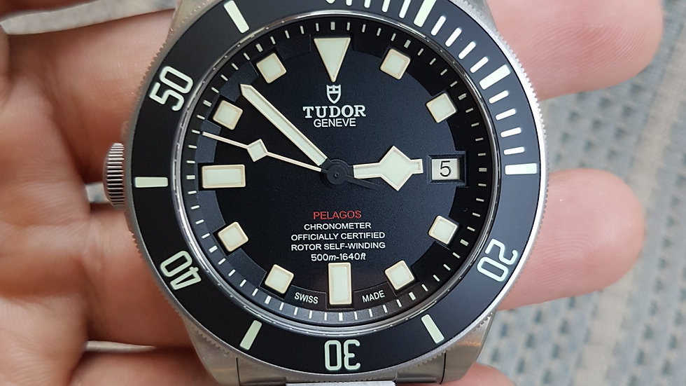 Tudor Pelagos LHD Box Papers 25610TNL 2018