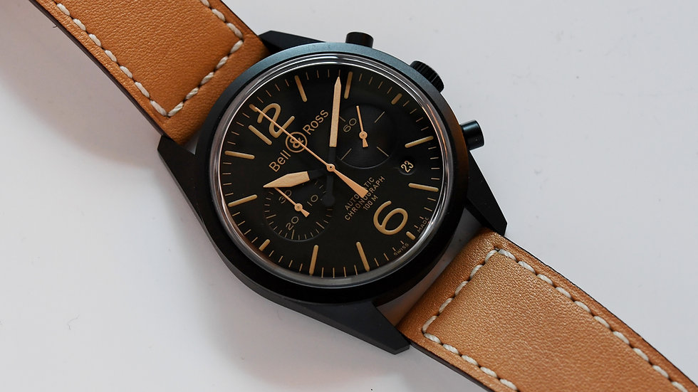 Bell & Ross BR126-94 SC PVD Vintage Old Stock