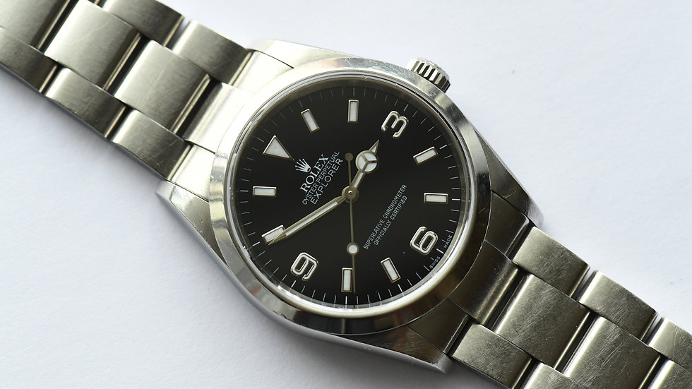 Rolex 114270 Explorer 1 2005 Unpolished
