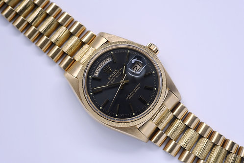 Rolex Day Date President 1807 1975 Anthracite Dial