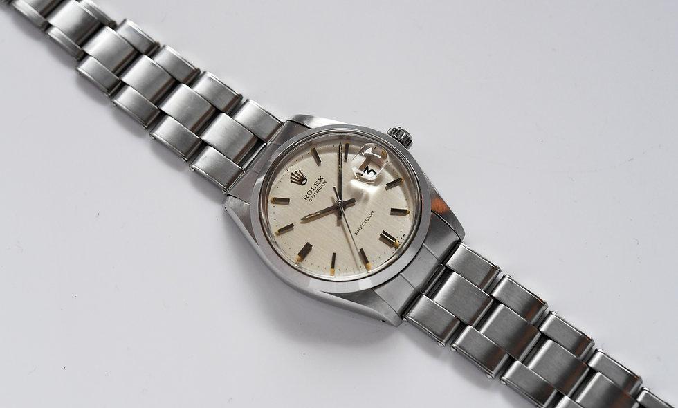 Rolex Precision Stainless Steel 6694 Tritium 1971 Serviced