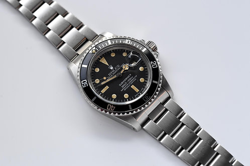 Rolex Submariner 1680 1977 Matte Dial Top Hat
