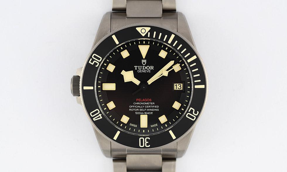 Tudor Pelagos LHD 25610TNL Titanium