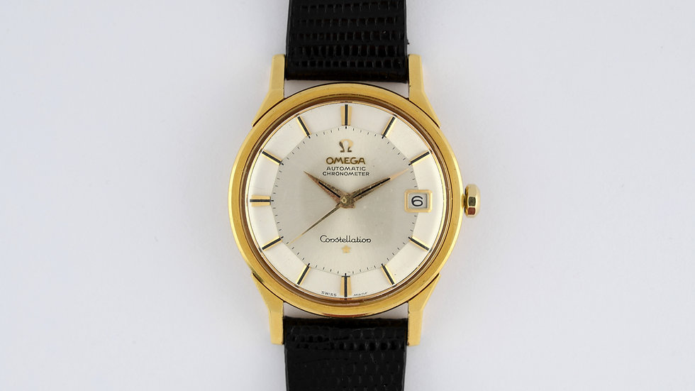Omega Constellation Pie Pan 18k 168005-6 SC-62