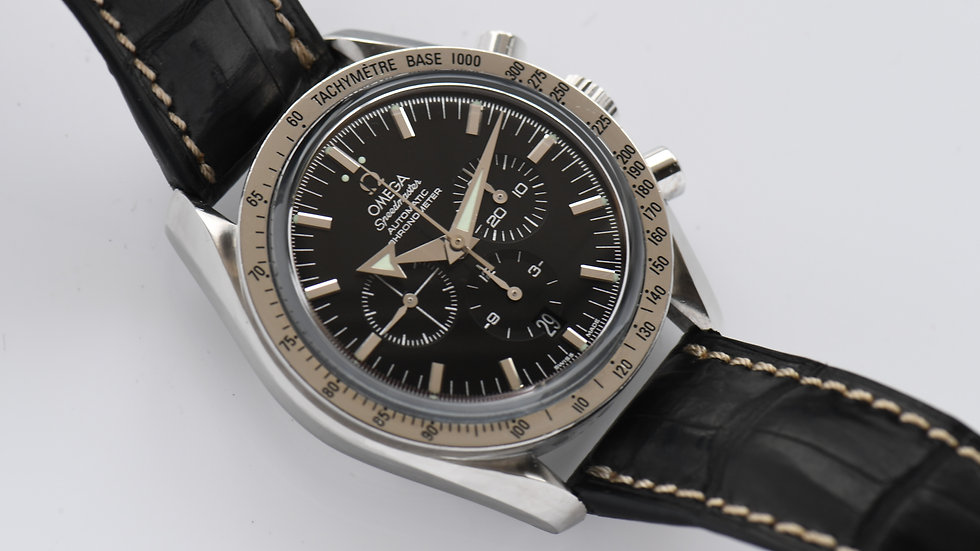 Omega Speedmaster Broad Arrow Chronometer Black Dial 2006