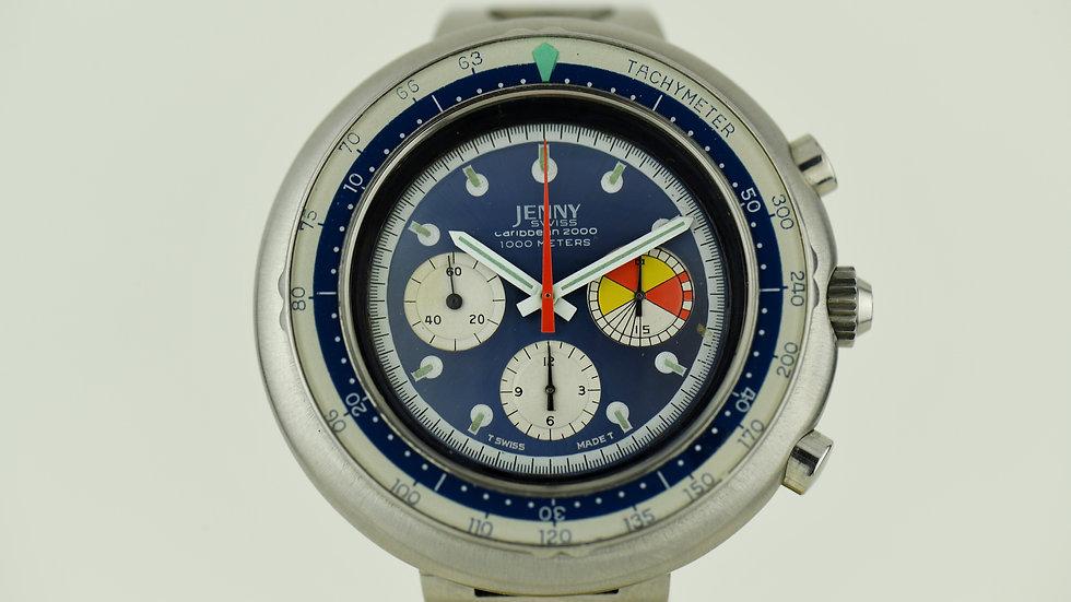Jenny Swiss Caribbean 2000 1000 Meters Valjoux 72