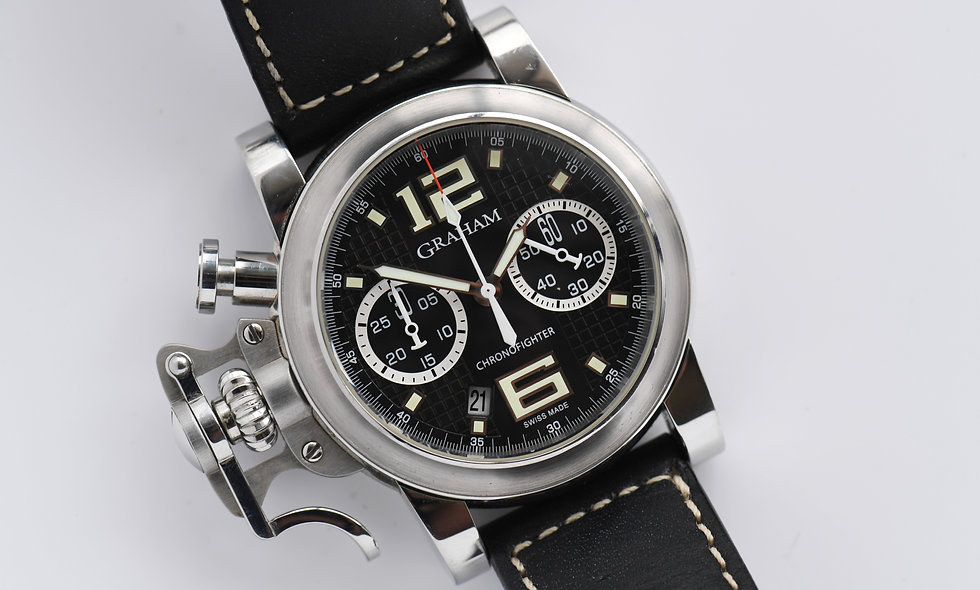 Graham Chronofighter 2CRBS Box Papers 2007