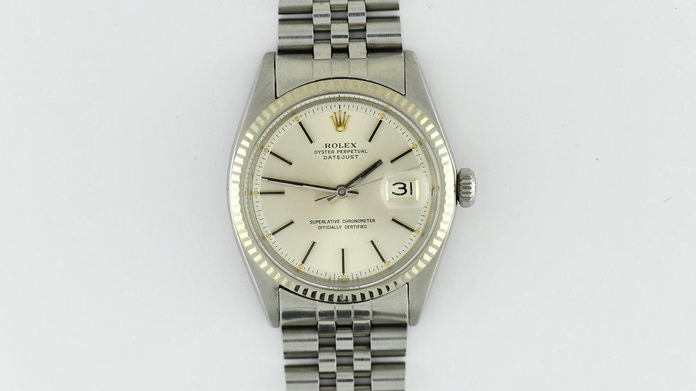 Rolex Datejust Pie Pan 1601 with 62510H Bracelet Serviced