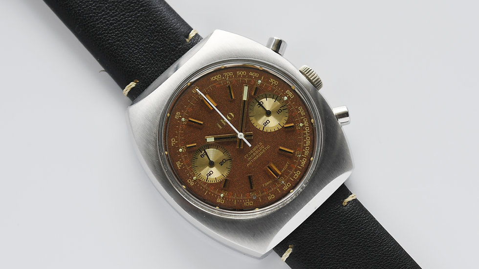Iko by Nivada Tropical Chronograph Valjoux 7733 Serviced